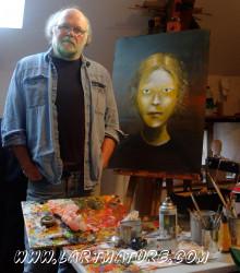 Fabrice Milleville à la L'arTmature - Galerie d'Art Contemporain