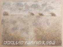 Cités endormies et autres paysages :  -  - Fresnay-sur-Sarthe