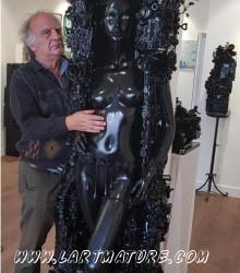 Jean-Louis Rappard à la L'arTmature - Galerie d'Art Contemporain