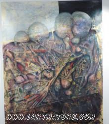 Tableau 5 - Peinture de Nomah