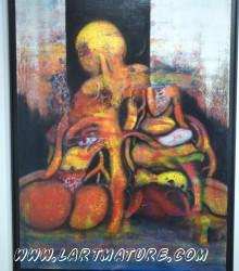 Tableau 9 - Peinture de Nomah